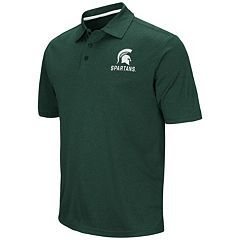 Men's Campus Heritage Michigan State Spartans Heathered Polo