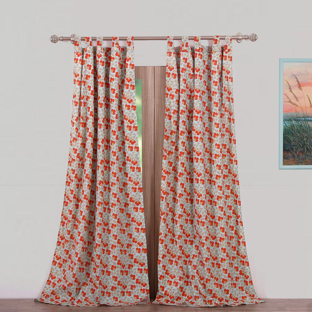 Terra Blossom 2-pack Curtain