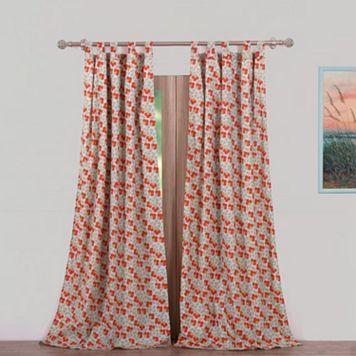 Terra Blossom 2-pack Window Curtain