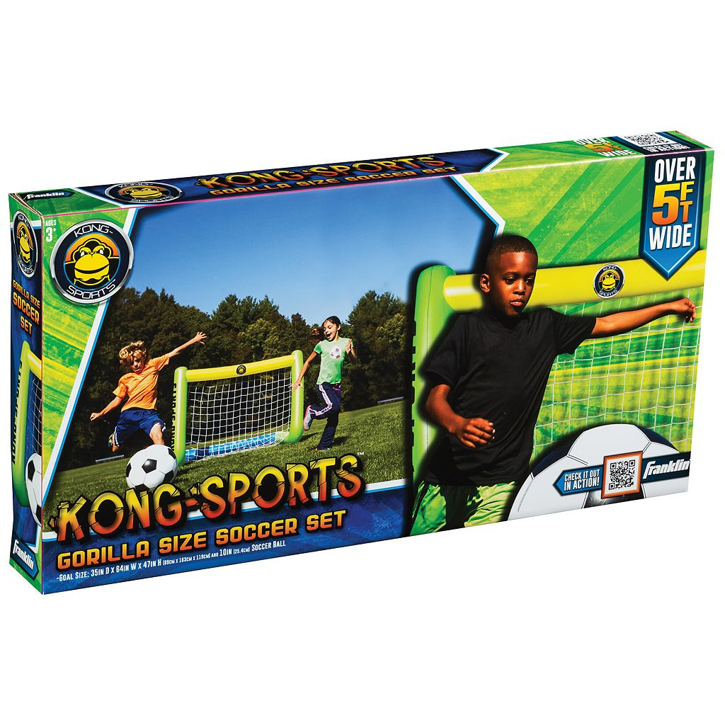 Franklin Sports Kong Sports Soccer Set