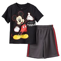 Disney's Mickey Mouse Boys 4-7 Graphic Tee & Shorts Set
