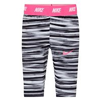 Girls 4-6x Nike Dri-FIT Sport Essentials Monolith Printed Capri Leggings
