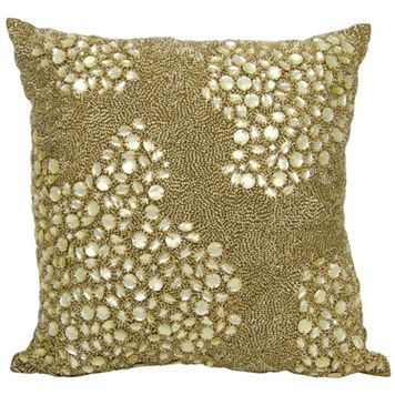 Mina Victory Lumin Fully Beaded Throw Pillow