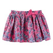 Toddler Girl OshKosh B'gosh® Printed Bow Skirt
