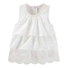Toddler Girl OshKosh B'gosh® Tiered Ruffle Woven Top