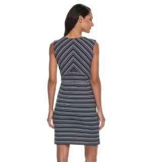 Women's Sharagano Striped Sheath Dress