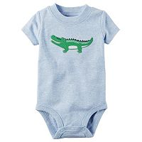 Baby Boy Carter's Animal Applique Bodysuit