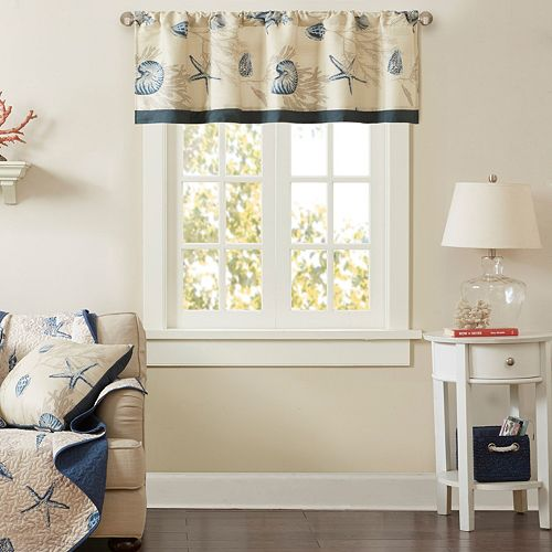 Madison Park Nantucket Printed Window Valance
