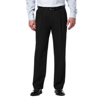 Men's Haggar Premium Classic-Fit Stretch Pleated Dress Pants