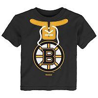 Baby Reebok Boston Bruins Lace-Up Graphic Tee