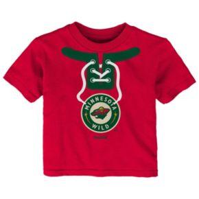 Baby Reebok Minnesota Wild Lace-Up Graphic Tee