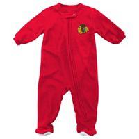 Baby Reebok Chicago Blackhawks Footed Pajamas