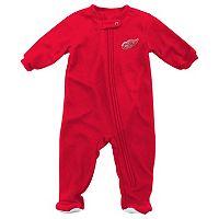 Baby Reebok Detroit Red Wings Footed Pajamas