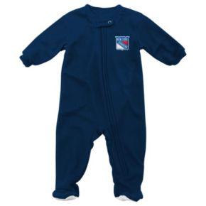 Baby Reebok New York Rangers Footed Pajamas