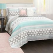Elephant Stripe Quilt Set