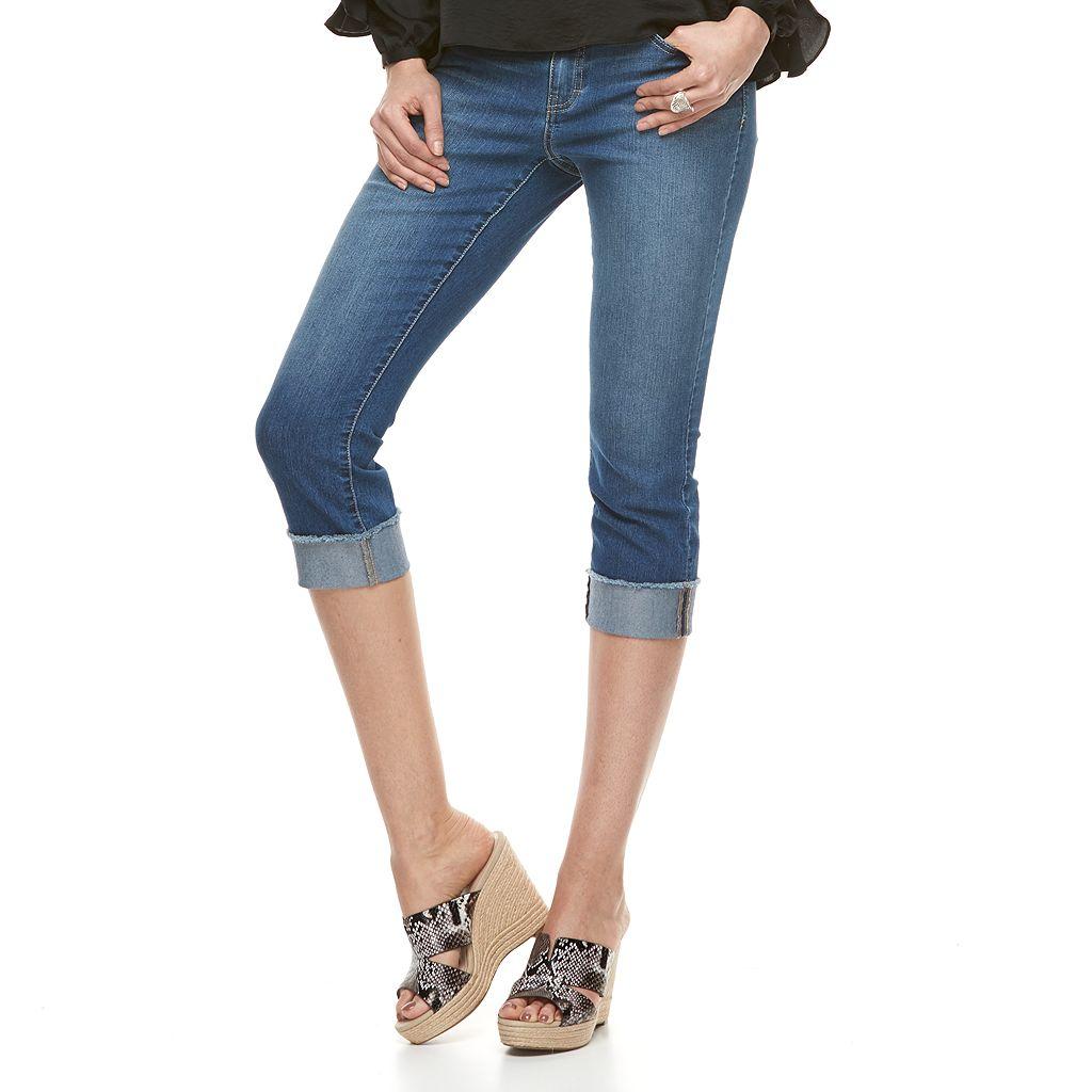 Women's Jennifer Lopez Cold-Shoulder Ruffle Top