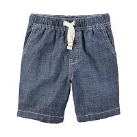 Baby Boy Carter's Denim Pull-On Shorts