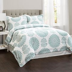 Evelyn Medallion 4-piece Comforter Set