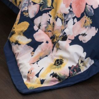 Floral Watercolor 7-piece Comforter Set