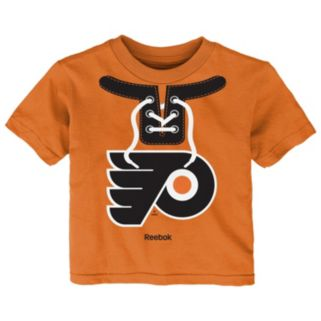 Toddler Reebok Philadelphia Flyers Lace-Up Graphic Tee