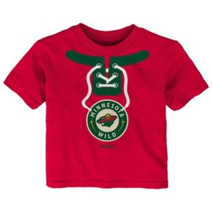 Toddler Reebok Minnesota Wild Lace-Up Graphic Tee