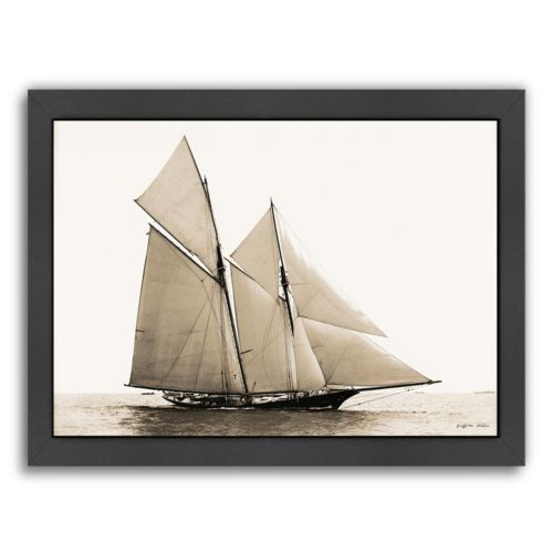 Americanflat Majestic Ship III Framed Wall Art