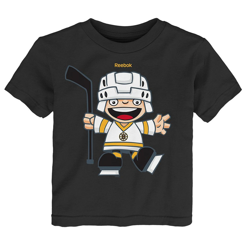 Toddler Reebok Boston Bruins Rookie Tee