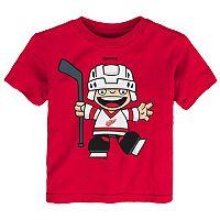 Toddler Reebok Detroit Red Wings Rookie Tee