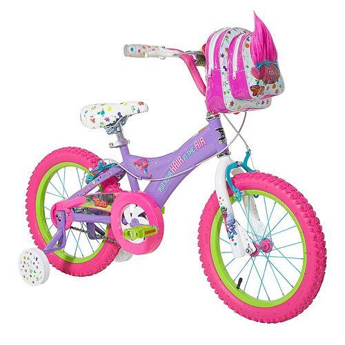 Girls DreamWorks Trolls Poppy 16-Inch Bike
