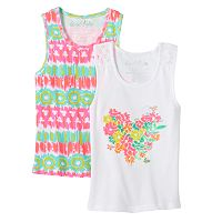 Toddler Girl Freestyle Revolution 2 pkPrinted Tank Tops