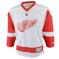 Baby Reebok Detroit Red Wings White Replica Jersey