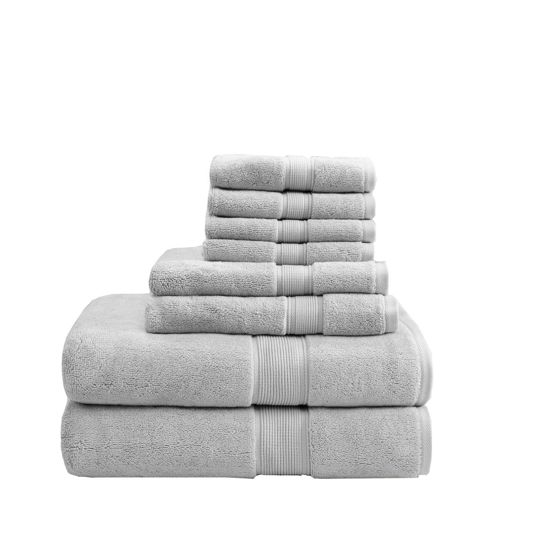 Madison Park 8 Piece Signature Bath Towel Set