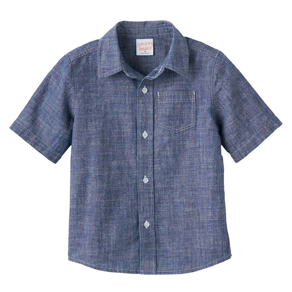 Baby Boy Jumping Beans® Chambray Button-Down Shirt