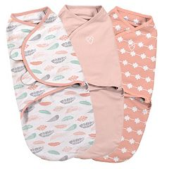 Summer Infant SwaddleMe 3 pkSmall Coral Original Swaddle