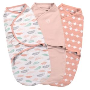 Summer Infant SwaddleMe 3-pk. Small Coral Original Swaddle