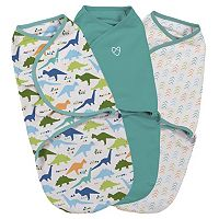 Summer Infant SwaddleMe 3 pkSmall Dino Original Swaddle