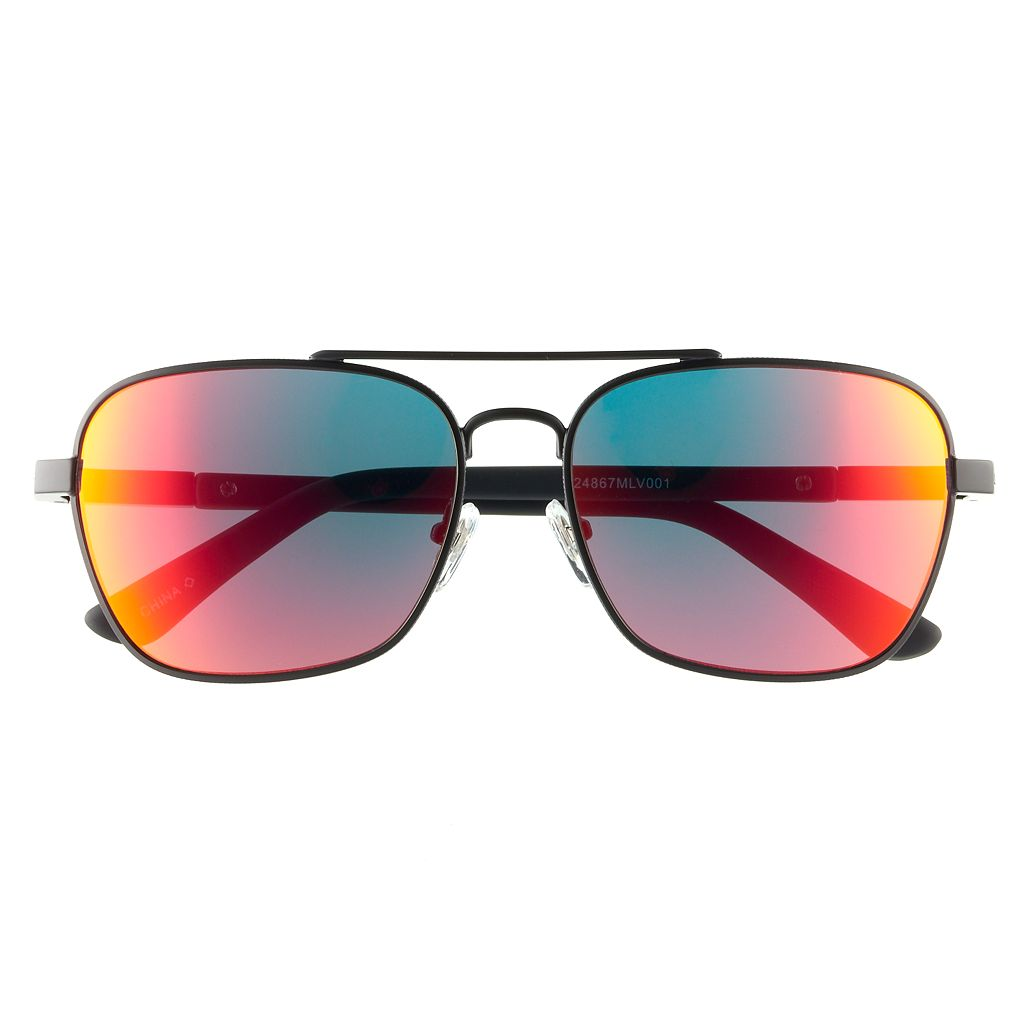 Men's Levi's® Polarized Aviator Sunglasses