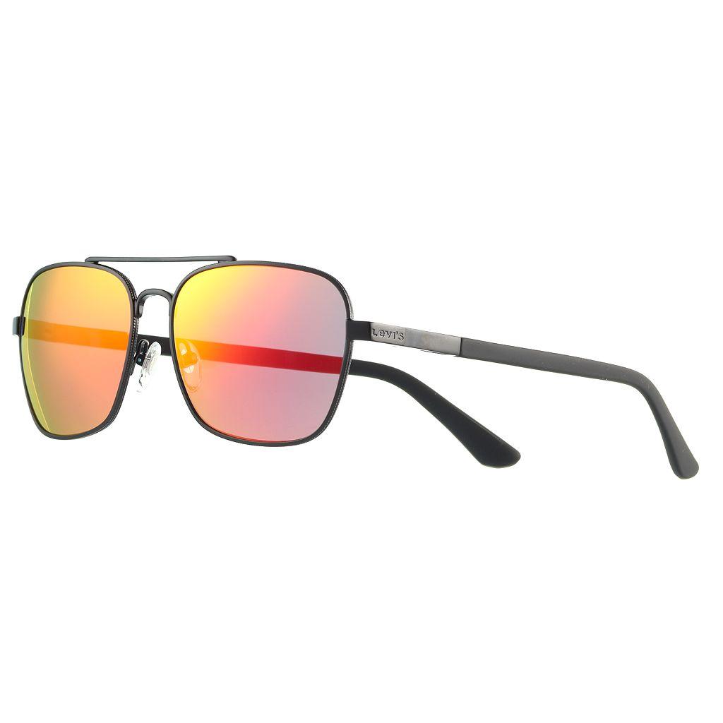 Men's Levi's® Polarized Aviator Sunglasses