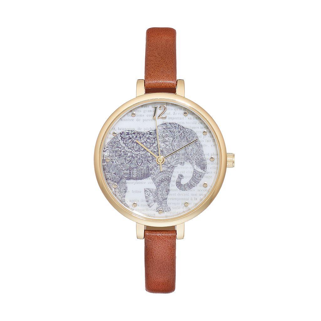 Women's Elephant Watch