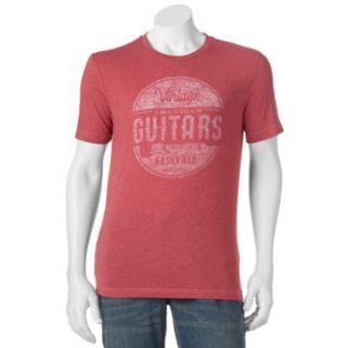 "Men's SONOMA Goods for Life™ ""Vintage Guitars"" Tee"