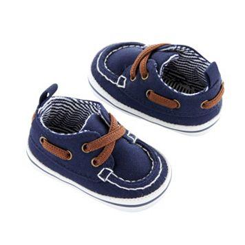 Newborn Baby Boy Carter's Boat Shoe Crib Shoes