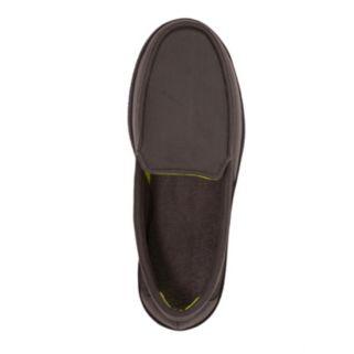 Dearfoams Men's Mesh Moccasin Slippers