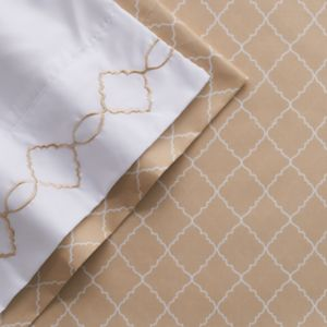 Grand Collection Revinn Embroidered Sheet Set