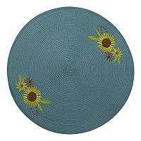 Celebrate Fall Together Sunflower Round Placemat