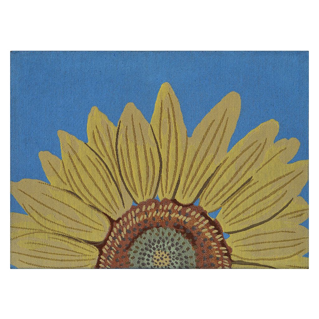Celebrate Fall Together Sunflower Tapestry Placemat