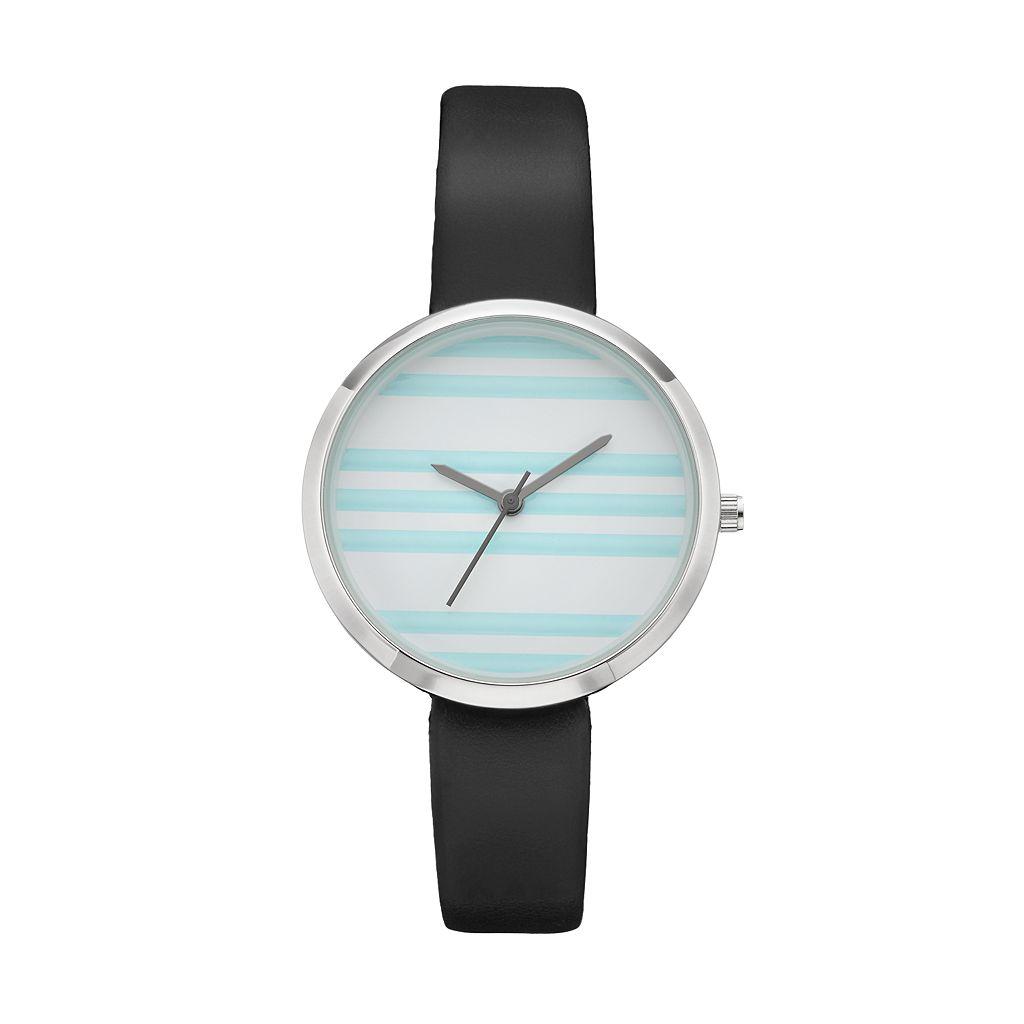 Women's Striped Watch