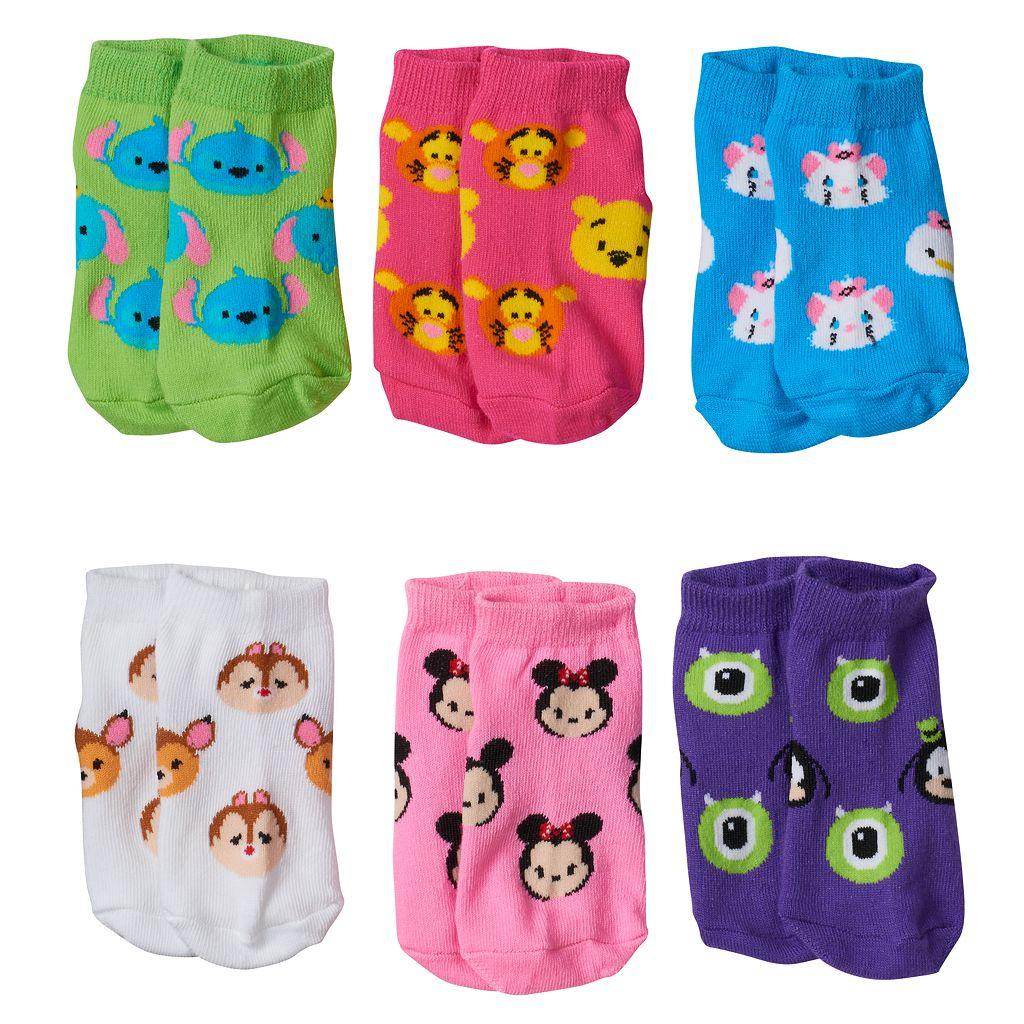 Disney's Tsum Tsum Toddler Girl 6-pk. Low-Cut Socks