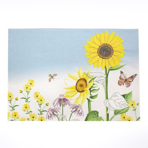 Celebrate Fall Together Wildflowers Placemat