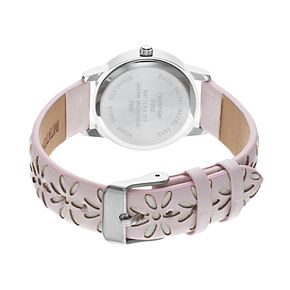 Women's Floral Cutout Watch