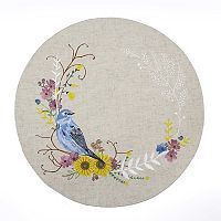 Celebrate Fall Together Bird Wreath Placemat